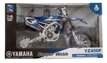 Afbeeldingen van Miniatuur motor 1:6 Yamaha Cooper Webb (#2)