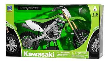 Picture of Miniatuur motor 1:6 Cross Kawasaki