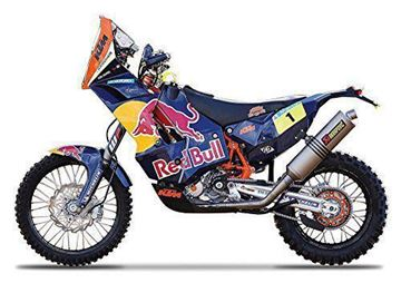 Picture of Miniatuur motor 1:18 KTM 450 Rally (Dakar Rally) #1 Cyril