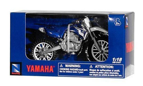 Afbeelding van Miniatuur motor 1:18 Cross Yamaha