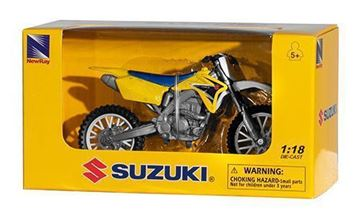 Picture of Miniatuur motor 1:18 Cross Suzuki