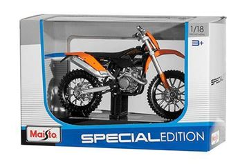 Picture of Miniatuur motor 1:18 Cross KTM