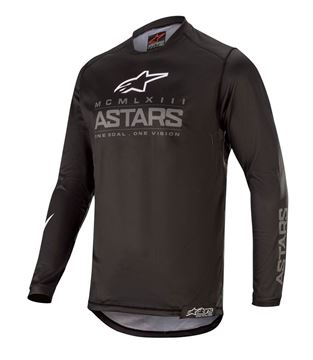 Picture of RACER GRAPHITE JERSEY - 2020