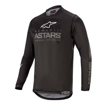Picture of YOUTH RACER GRAPHITE JERSEY - 2020