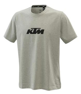 Picture of PURE LOGO TEE GREY MELANGE