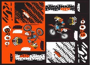 Picture of TEAM GRAPHIC STICKER SHEET