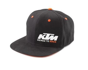 Picture of TEAM SNAPBACK CAP BLACK