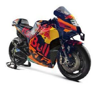 Picture of MOTOGP MODEL BIKE BINDER