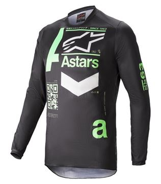 Picture of Fluid Chaser - Black/Mint - Alpinestar