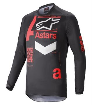 Picture of Fluid Chaser - Black/Bright Red - Alpinestar