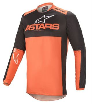 Picture of Fluid Tripple - Black/Orange - Alpinestar