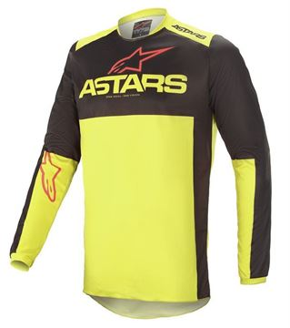 Picture of Fluid Tripple - Black/Yellow Fluo/Bright Red - Alpinestar