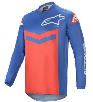 Picture of Fluid Speed - Blue/Bright Red - Alpinestar
