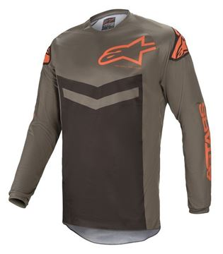 Picture of Fluid Speed - Dark Gray/Orange - Alpinestar
