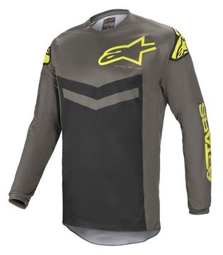 Picture of Fluid Speed - Dark Gray/Yellow Fluo - Alpinestar