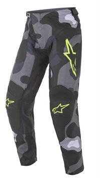 Afbeeldingen van Racer Tactical pants - Gray Camo/Yellow Fluo - Alpinestar