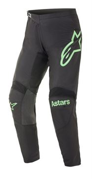 Picture of Fluid Chaser pants - Black/Mint - Alpinestar