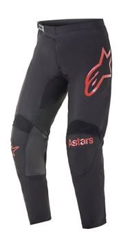 Afbeeldingen van Fluid Chaser pants - Black/Bright Red - Alpinestar