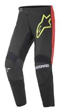 Afbeeldingen van Fluid Tripple pants - Black/Yellow Fluo/Bright Red - Alpinestar