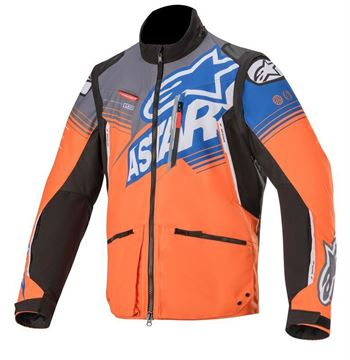 Afbeeldingen van Venture-R Jacket- Orange/Gray/Blue - Alpinestar