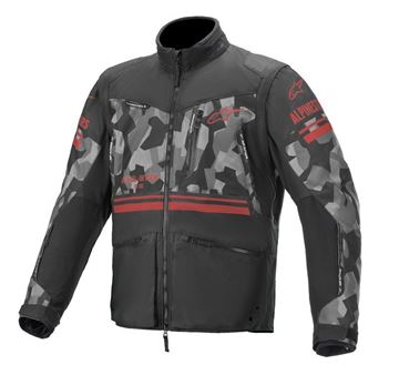 Picture of Venture-R Jacket- Gray/Camo/Red Fluo - Alpinestar