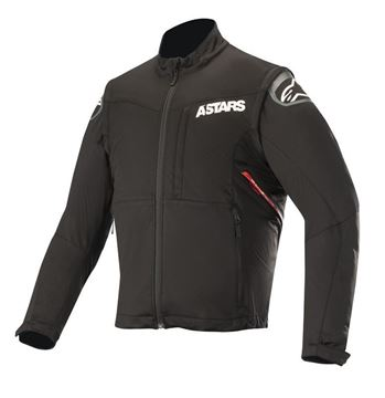 Afbeeldingen van Session Race Jacket- Black/Red - Alpinestar