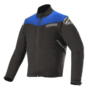 Afbeeldingen van Session Race Jacket- Black/Blue - Alpinestar