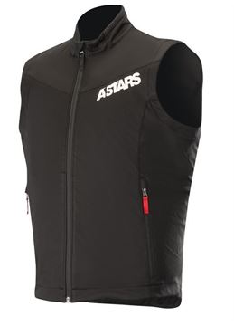 Afbeeldingen van Session Race Vest - Black/Red - Alpinestar