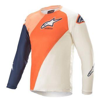 Afbeeldingen van Youth Racer Blaze - Orange/Dark Blue - Alpinestar