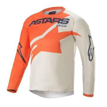 Afbeeldingen van Youth Racer Braap - Orange/Light Gray/Dark Blue - Alpinestar