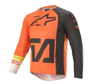 Picture of Youth Racer Compass - Orange/Anthracite/Off White - Alpinestar