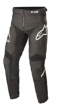Picture of Youth Racer Braap Pants - Black/White - Alpinestar