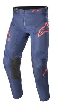 Afbeeldingen van Youth Racer Braap Pants - Dark Blue/Bright Red - Alpinestar