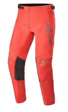 Afbeeldingen van Youth Racer Compass Pants - Red Fluo/Anthracite - Alpinestar