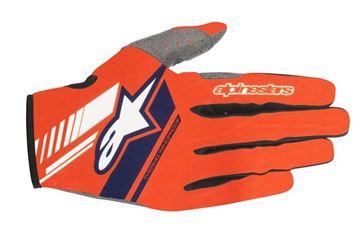 Picture of Neo Gloves - Orange/Dark Blue - Alpinestar