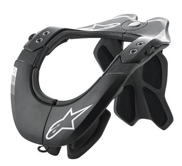 Picture of BNS Tech 2 Neckbrace - Black/Gray - Alpinestars