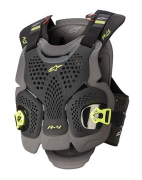 Picture of A-4 Max Chest Protector - Black/Yellow - Alpinestars