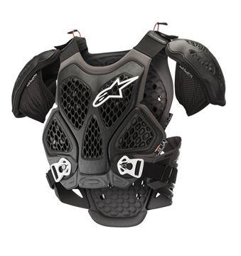 Afbeeldingen van Bionic Chest Protector - Black/Gray - Alpinestars