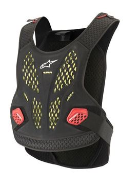 Picture of Sequence Chest Protector - Anthracite/Red - Alpinestars