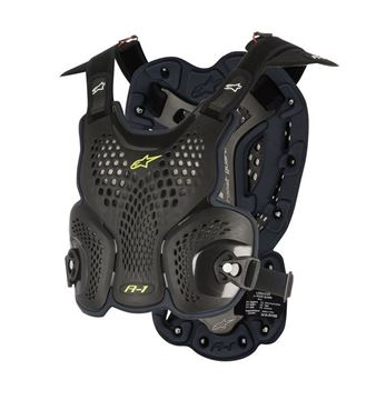 Picture of A-1 Roost Guard - Black/Anthracite - Alpinestars