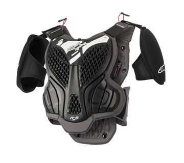Picture of A-5 S | Youth | Body armour - Black/Gray -  Alpinestars