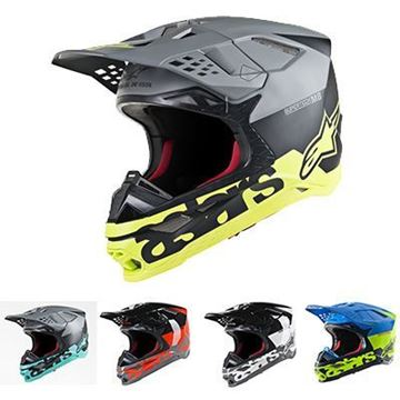 Picture of Supertech M8 Radium Helmet - Kies uw kleur - Alpinestars