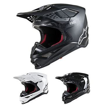 Picture of Supertech M8 Solid Helmet - Kies uw kleur - Alpinestars