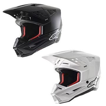 Picture of Supertech M5 Solid Helmet - Kies uw kleur - Alpinestars