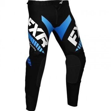 Picture of Youth Pro-stretch Revo Crossbroek - Zwart/Blauw - FXR