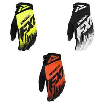 Afbeeldingen van Factory Ride Adjustable Crosshandschoen - Kies uw kleur - FXR