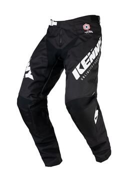 Picture of Raw Track Adult Pants Black White