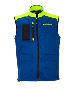 Picture of Bodywarmer + Navy Neon Yellow