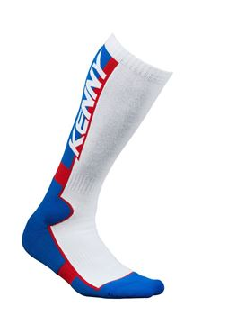 Picture of Mx Tech Socks Blue White Red