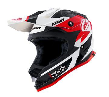 Afbeeldingen van Track Kid Helmet Black Red